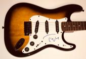 Tom Petty signed Fender guitar strat autographed the heartbreakers beckett coa