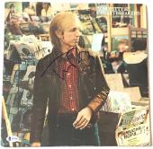 Tom Petty signed hard promises album autographed the Heartbreakers beckett coa