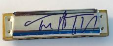 Tom Petty signed harmonica autographed photo proof the heartbreakers psa dna coa