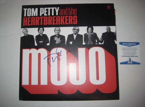 TOM PETTY Signed MOJO Album w/ Beckett COA