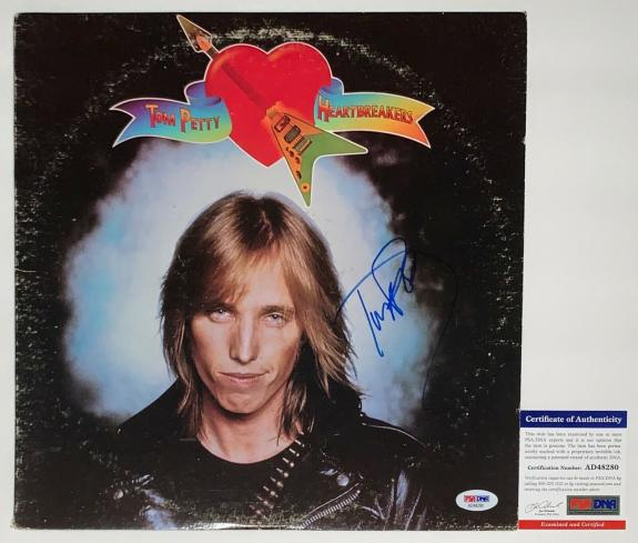 Tom Petty Signed Tom Petty And The Heartbreakers Debut Record Psa Coa Ad48280