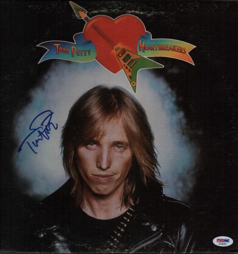 Tom Petty Signed Tom Petty And The Heartbreakers Debut Record Psa Coa Ad48283