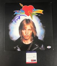 Tom Petty Signed Tom Petty & The Heartbreakers Vinyl Lp Authentic Auto Psa/dna