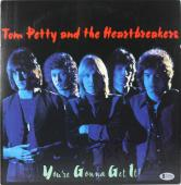 Tom Petty Signed Your Gonna Get It! Album Cover W/ Vinyl BAS #A11018