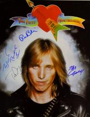 Tom Petty & The Heartbreakers Signed 16x20 Album Poster Photo AFTAL