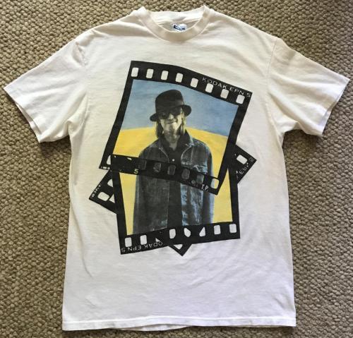 Tom Petty Tour T-shirt 1989 Tour Dates Kodak Chest 39 Vintage 1980s
