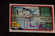 Tom Selleck 1982 Donruss Magnum P.i.signed Autographed Trading Card #19