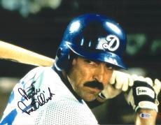 "Tom Selleck Autographed 11"" x 14"" Mr. Baseball Batting Photograph - BAS COA"