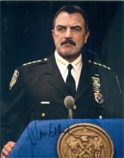 Tom Selleck autographed 8x10 photo (Blue Bloods New York Police Commissioner) Image #SC1
