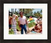 Tom Selleck autographed 8x10 photo (Magnum PI) Image #13 Matted & Framed