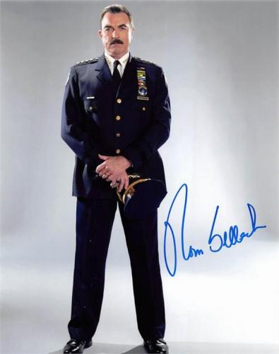 Tom Selleck autographed photo (Blue Bloods New York Police Commissioner) size 8x10 image #SC7