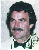 Tom Selleck Autographed Signed 8x10 Color Press Photo In White Tux