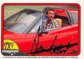 Tom Selleck autographed trading card Magnum PI 1982 TV Show SC #26