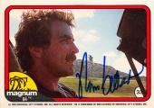 Tom Selleck autographed trading card Magnum PI 1982 TV Show SC #33