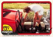 Tom Selleck autographed trading card Magnum PI 1982 TV Show SC #35