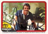 Tom Selleck autographed trading card Magnum PI 1982 TV Show SC #38