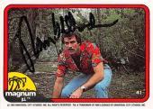 Tom Selleck autographed trading card Magnum PI 1982 TV Show SC #41
