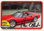 Tom Selleck autographed trading card Magnum PI 1982 TV Show SC #5