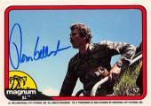 Tom Selleck autographed trading card Magnum PI 1982 TV Show SC #57