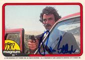 Tom Selleck autographed trading card Magnum PI 1982 TV Show SC #60