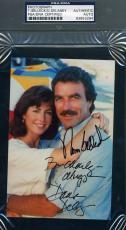Tom Selleck Dana Delaney Signed Psa/dna Coa Photo Authenticated Autograph