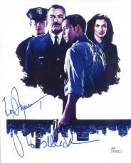 TOM SELLECK HAND SIGNED 8x10 COLOR PHOTO       SIGNED TO THERESA     JSA