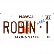 Tom Selleck Magnum P.I. Autographed Hawaii License Plate - BAS