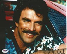 Tom Selleck Magnum Pi Blue Bloods Signed Autograph 8x10 Photo PSA/DNA COA (B)