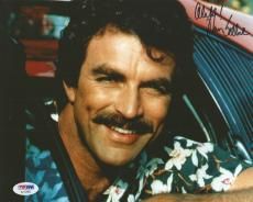 Tom Selleck Magnum Pi Blue Bloods Signed Autograph 8x10 Photo PSA/DNA COA (G)