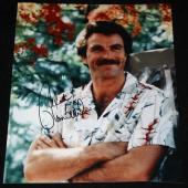 Tom Selleck signed 8 x 10, Magnum, P.I., Blue Bloods, Mr. Baseball, COA
