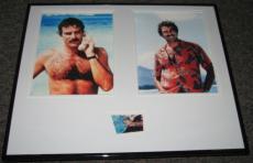 Tom Selleck Signed Framed 16x20 Photo Set JSA Magnum PI
