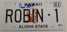 Tom Selleck Signed Magnum Pi License Plate Authentic Autograph Beckett Coa
