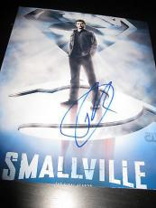 TOM WELLING SIGNED AUTOGRAPH 8x10 PHOTO SMALLVILLE PROMO SUPERMAN COA AUTO D