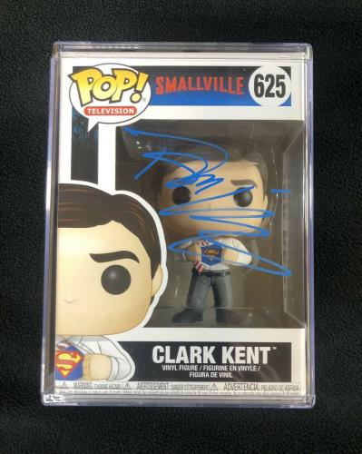Tom Welling Signed Smallvile Clark Kent Superman Funko Pop Figure W/ Protector
