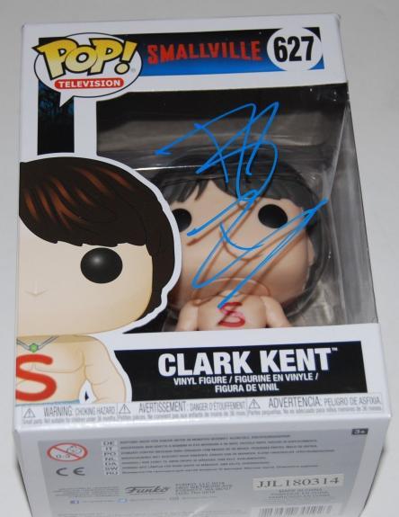 TOM WELLING signed (SMALLVILLE) CLARK KENT Shirtless FUNKO POP #627 W/COA