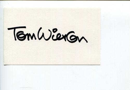 Tom Wilson Ziggy Comic Strip Cartootist Artist Creator Signed Autograph
