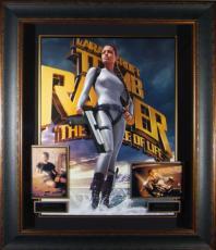 Tomb Raider - Angelina Jolie Autographed Framed Display