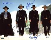 Tombstone (4) Russell, Paxson, Kilmer & Elliott Signed 11X14 Photo BAS #A80840