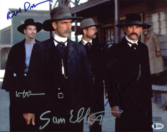Tombstone (4) Russell, Paxton, Kilmer & Elliott Signed 11X14 Photo BAS #A80841