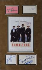 Tombstone Multi Signed Autographed Matted Piece w/Bill Paxton PSA/DNA #AC06207