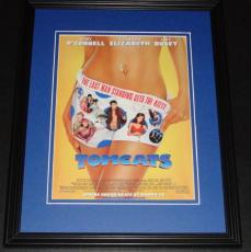 Tomcats 2001 11x14 Framed ORIGINAL Vintage Advertisement Poster Jerry O'Connell