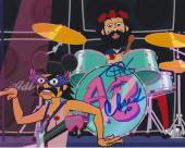 Tommy Chong & Cheech Marin Signed Autograph 8x10 Photo Animated Movie