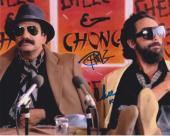 Tommy Chong & Cheech Marin Signed Autograph 8x10 Photo Cheech & Chong Duo