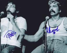 Tommy Chong & Cheech Marin Signed Autographed 8x10 Photo  Cheech & Chong Live
