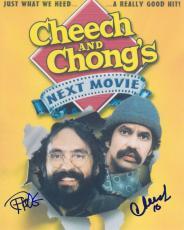 Tommy Chong Cheech Marin Signed Autographed 8x10 Photo Cheech & Chong Next Movie