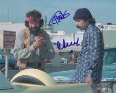 Tommy Chong & Cheech Marin Signed Autographed 8x10 Photo  Up In Smoke
