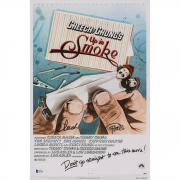 "Tommy Chong & Cheech Marin Up in Smoke Autographed 12"" x 18"" Movie Poster - BAS"