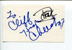 Tommy Chong & Cheech Marin Up In Smoke Stars Signed Autograph Card