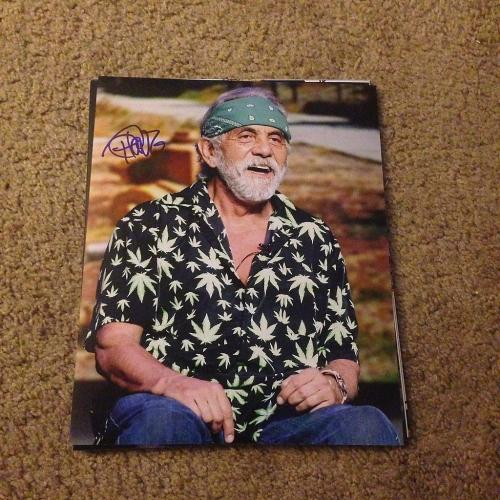 Tommy Chong Up In Smoke  Big Bambu Signed Autographed 8x10 Photo W/coa