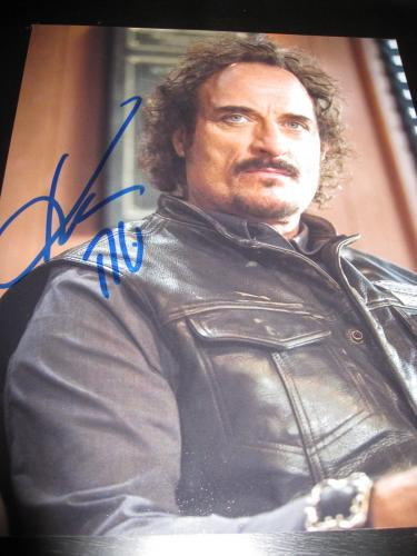 KIM COATES SIGNED AUTOGRAPH 8x10 PHOTO SONS OF ANARCHY PROMO IN PERSON COA J